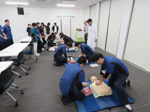 AED実践訓練
