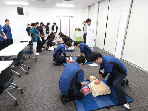 医療安全管理研修会(AED実施訓練)
