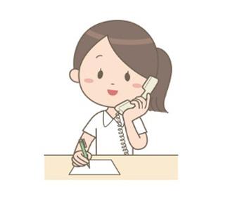 ケアマネージャーより訪問リハビリ担当者に訪問リハビリ依頼の連絡があります