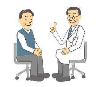 大森整形外科リウマチ科に受診し、医師がリハビリテーション実施計画書※を作成します